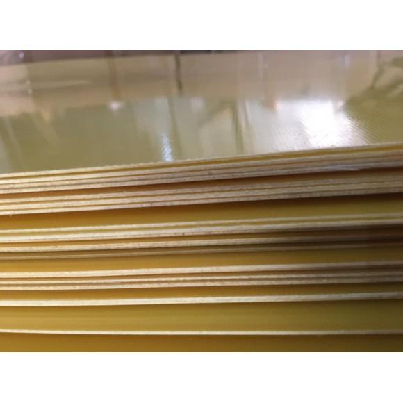 Стеклотекстолит высший сорт СТЭФ-1 ГОСТ 12652-74; 2 мм, 1 м  х  2 м